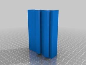 4020 Raspberry Pi Case with PiCam Slot & room for heatsinks - vertical rail mount