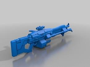 Destiny Exotic machine gun Super Good Advice 1:1 Scale
