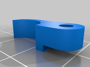 Better Locking Arm Piece for Lawsy MK5 Extruder