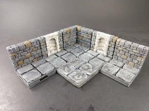 OpenForge 2.0 Dungeon Stone Niche Walls