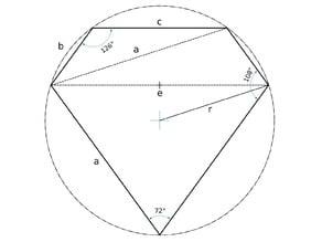 Dürers Solid / Polyeder / Rhomboederstumpf