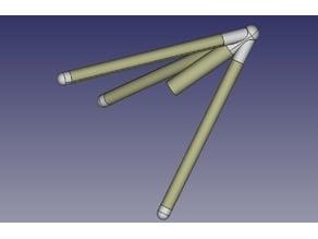 Tripod Flying model Rocket Rocket