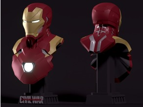 Iron Man Mark 46 Bust - Civil War
