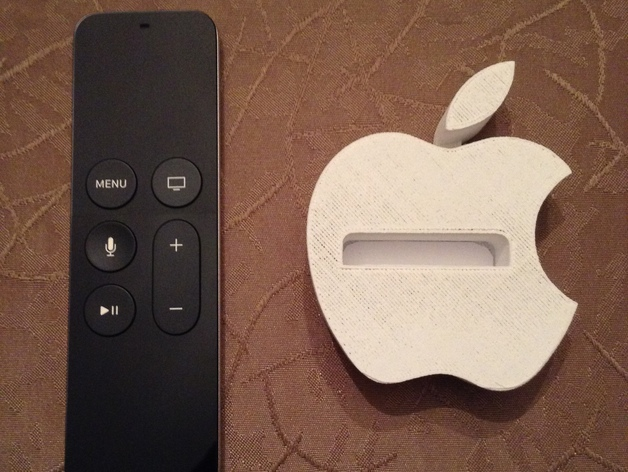 Apple Tv Remote Holder By Joebarteam Thingiverse