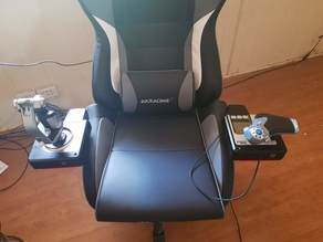 X52 Mount for Gaming Chair Arm