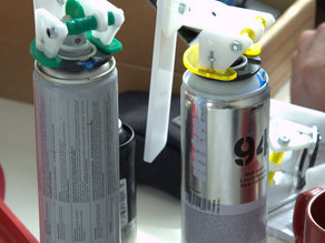 ACAD Aerosol can adaptor