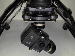 Yuneec Q500 FeiYu-Tech Mini 3D 3-Axis Gimbal Adapter Plate