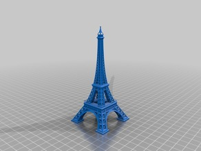 Detailed Eiffel Tower