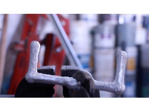 Plastic Handle or Lathe Handle For Casting