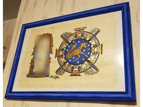 Decorative picture frame A3