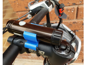 Front LED Bicycle Light Mount