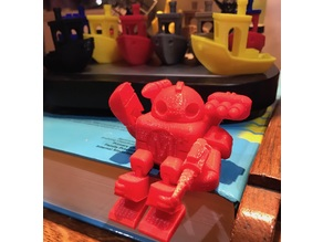 Makerbot Robot - weaponized & wider joints