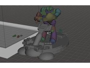 Robotech Master Bioroid Hover Craft