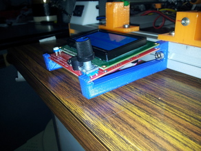 LCD 12864 Support 30x30 extrusion