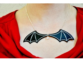 Bat Wing Necklace