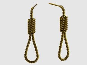Halloween Hanging Rope Earrings