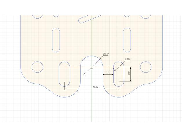 DiA Universal antenna mount sketch