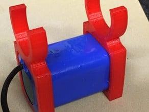 Support batterie feux led VTT / bike led batterie holder