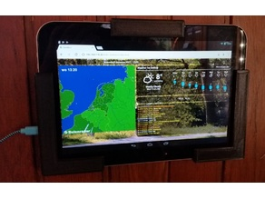 """Tablet wall holder : Toshiba AT10-A 10.1"""""""