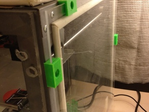 Solidoodle 3 Enclosure Clips for Air Tight Seal - No Fumes