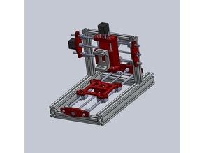 Small CNC for draw,  PCB or wood