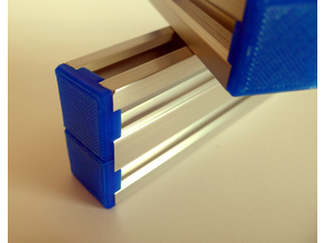 End-cap for 20mm V-slot extrusion