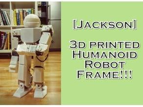 [Eunchan] 3d printed humanoid robot