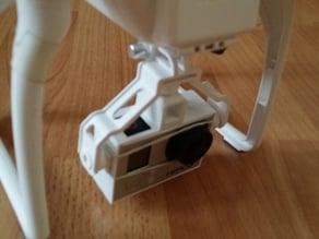 DJI Phantom FC40 GoPro 3 Holder / Adapter
