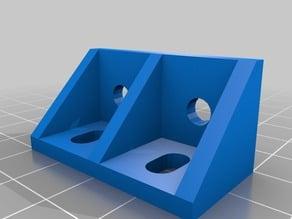 Parametric Aluminum Extrusion Angle Bracket