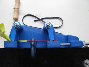 Slingshot Band Tying Jig - 2 Clamps