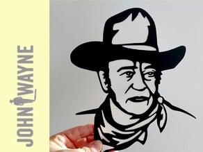 placa John Wayne