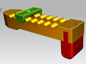 CNC morsetto modulare da tavola (d. 6mm.) rev.003 - CNC table modular clamp (d. 6mm.) rev.003