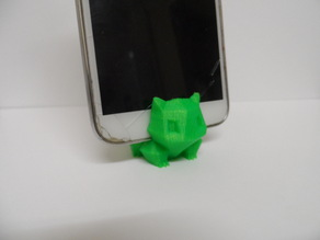 Pokemon Bulbasaur- Low Poly - Keyring  Phone Stand