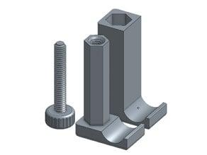 Universal tripod phone mount
