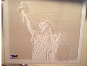 Statue Of Liberty Lithophane