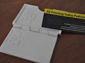 3D Printing Today Business card embosser
