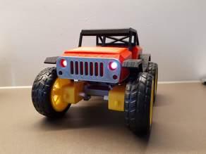 RC Jeep, NodeMcu, RoboRemo