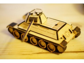 T34 wooden