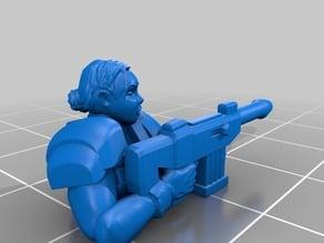 Female PDF Trooper Set 1 (non-heroic)
