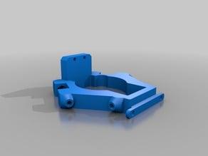 MICROMAKE 3D Printer Delta mini kossel Effector with Z probe V1