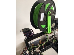 No Frills Spool Holder Flsun i3