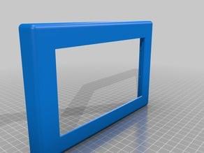 "Nextion 7"" display housing + support"