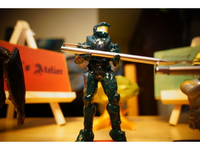 Master chief pen holder (HALO 4)