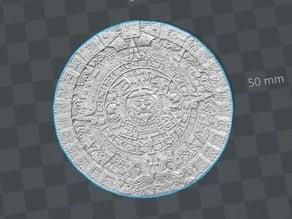 Aztec Calendar (High Quality)