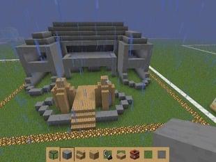 minecraft mansion od amazement
