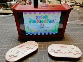 Raspberry Pi + 5 Inch Screen Case (RetroPie Console)
