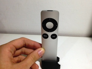 Apple TV remote control dock