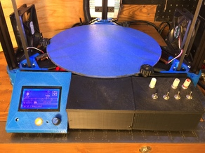 Kossel XL Control Panel & Ramps Enclosure