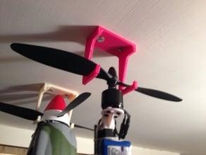 Model plane hanger
