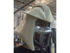 Shredder Helmet and Mask